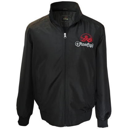Jacket with ARFMFIGHT embroidery # Armwrestling Shop # Armpower.net